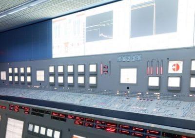 Training simulator at KSG - Control room